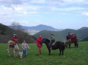 balade enfants poneys